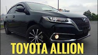 обзор Toyota Allion G Package 2016 года