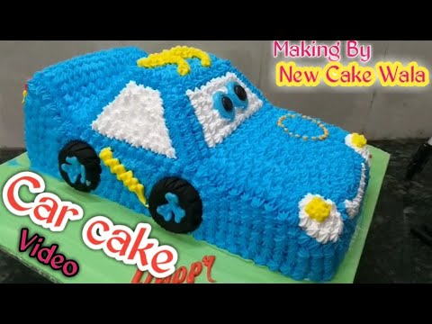 Car Cake How To Make Fancy Car Cake Decorations Making By New Cake