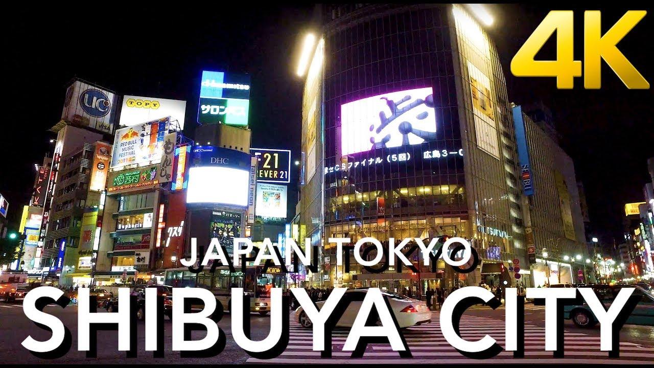 【東京/渋谷】Japan Tokyo Shibuya 4K -just walking-