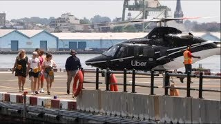 Uber launches helicopter service
