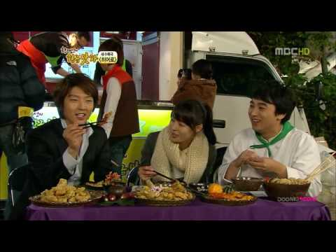 李準基 HERO - 091113 MBC  SECTION TV 黃金食茶  HERO 探班 中字