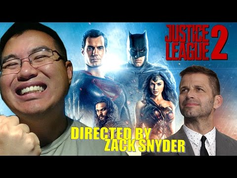 JUSTICE LEAGUE 2 Directed By Zack Snyder!?