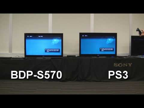 Sony BDPS570 Blu-ray vs. PS3: Boot-up, Loading Time & Play Race! Who will win?