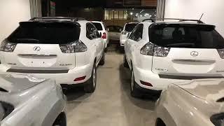 2007 Camry HLE full Option | 2005 Lexus RX330 full Option & 2003 High lander Base option
