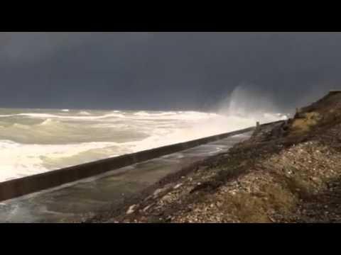 La temp te ault onival baie de somme du 8 f vrier 2016 - Baie de somme chambre d hote ...