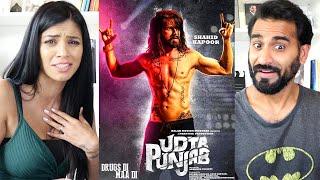 UDTA PUNJAB Trailer REACTION!!! | Shahid Kapoor | Alia Bhatt | Kareena Kapoor | Diljit Dosanjh