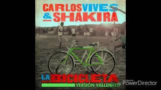 Carlos Vives,Shakira - La Bicicleta (Versión Vallenato)