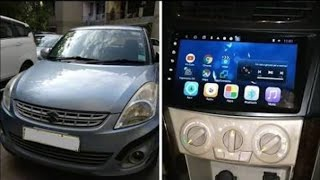 Maruti Swift dzire Installed Hypersonic Android stereo