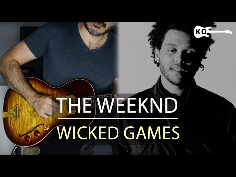 The Weeknd - Wicked Games - Electric Guitar Cover by Kfir Ochaion