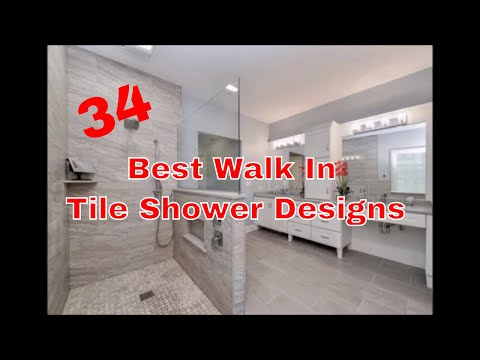 Best Walk in Tile Shower Ideas - Tile Shower Ideas and Designs