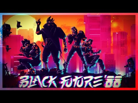 🔴[Black Future '88] Taking A First Look At A Cool Atmospheric Side Scroller
