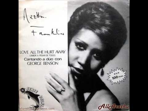 "Aretha Franklin - Love All The Hurt Away / You Can't Always Get What... - 7"" DJ Promo Spain - 1981"