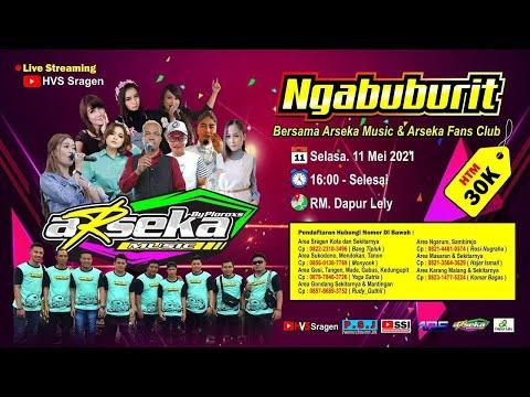 LIVE STREAMING NGABUBURIT BERSAMA ARSEKA MUSIC & ARSEKA FANS CLUB // ARS AUDIO JILID 5 // HVS SRAGEN