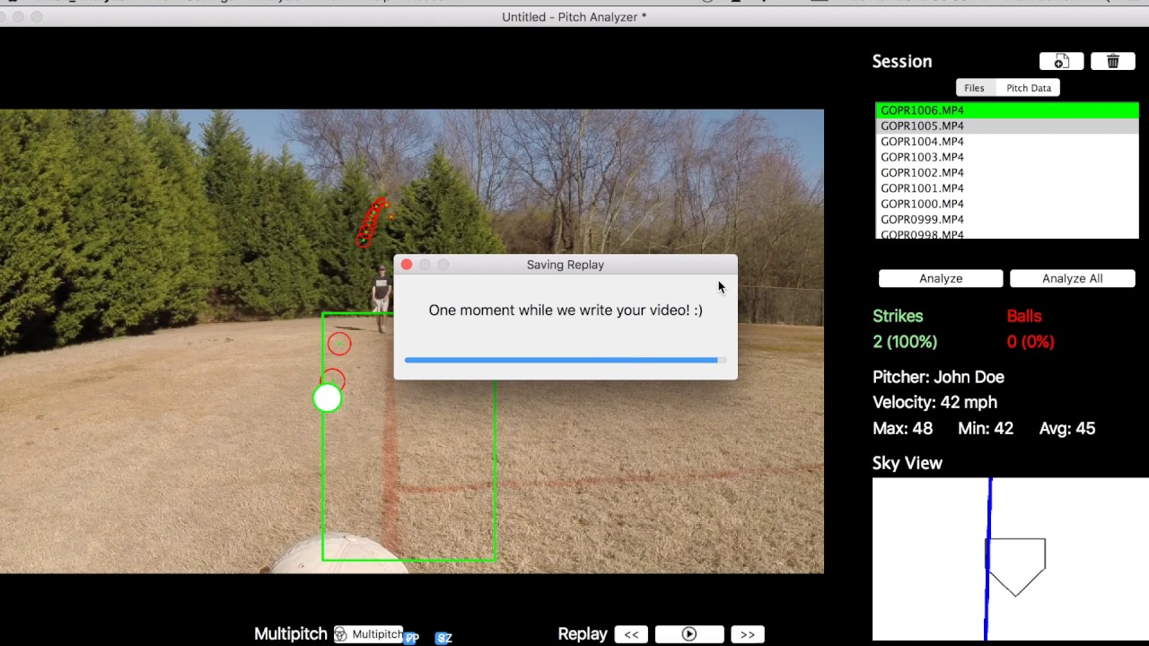 Pitch Analyzer Instructional Video