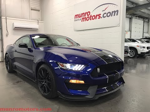 2016 Ford Mustang Shelby SOLD SOLD SOLD GT350 Tech Navigation Black Stripes Munro Motors