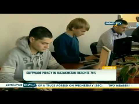 Software piracy in Kazakhstan reaches 76%