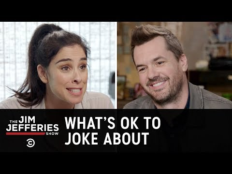 Sarah Silverman On Free Speech And Offensive Comedy - The Jim Jefferies Show