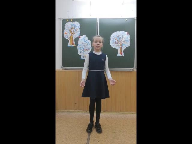 Изображение предпросмотра прочтения – ВалерияПащенко читает произведение «Рукавички я забыла» А.Л.Барто