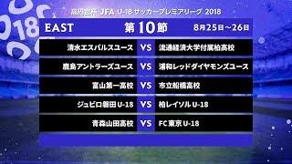 EAST 第10節 ダイジェスト【高円宮杯 JFA U-18サッカープレミアリーグ 2018】