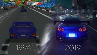 Evolution of Need For Speed Games 1994 - 2019 4k 60fps