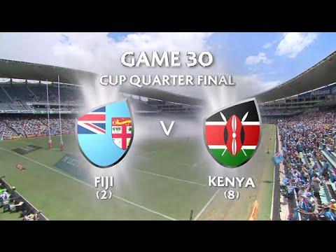 Fiji Vs Kenya Cup Quarter Final Sydney 7s 2016 Full Game