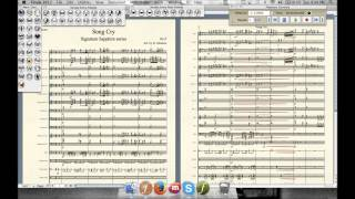 zeroquarter com song cry marching band arrangement