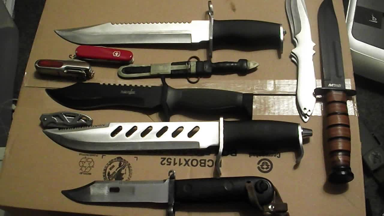knife collection my knife collection youtube