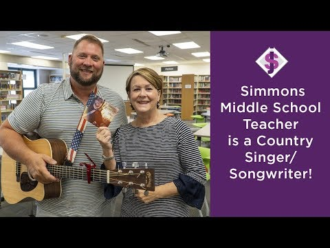 Simmons Middle School Teacher Is A Country Singer/Songwriter
