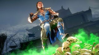 MK11 Young Shang Tsung Performs All Victory Celebrations Outro 1 (Sorcerer of the Realms)