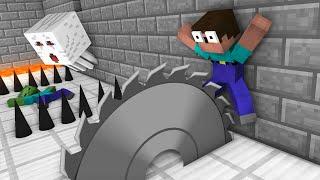 Monster School : SECRET TRAP Challenge - Funny Minecraft Animation