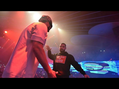 Drake Came out at French Montana's Show in Toronto - (Full Performance)