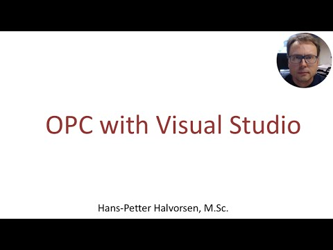 OPC with Visual Studio