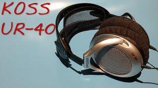 koss UR-40 Headphones Review
