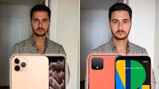 ¿Cuál hace mejores FOTOS? Pixel 4 XL vs iPhone 11 Pro 🤯