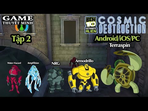 GTM ► Ben 10 TIẾNG VIỆT ● Tập 2 ● Ben 10 Ultimate Alien Cosmic Destruction PS3 PSP Android IOS XBOX
