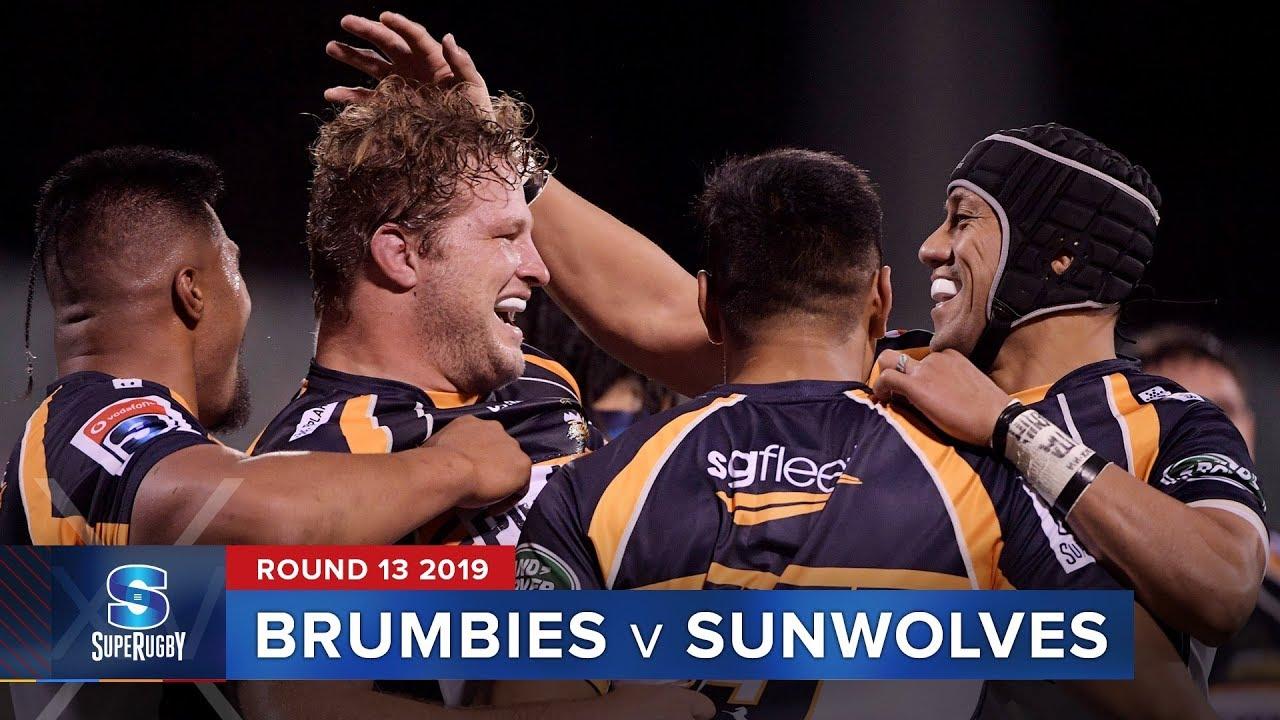 Brumbies v Sunwolves | Super Rugby 2019 Rd 13 Highlights