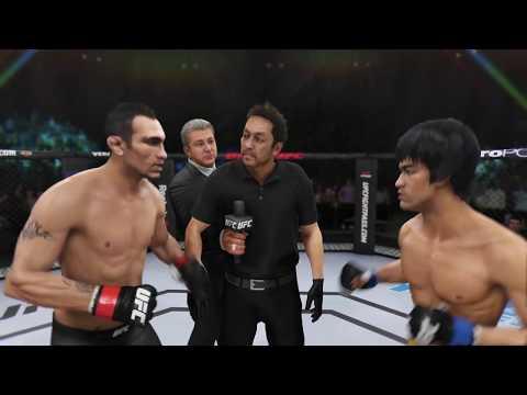Tony Ferguson vs. Bruce Lee (EA Sports 3) - Rematch (CPU vs. CPU)