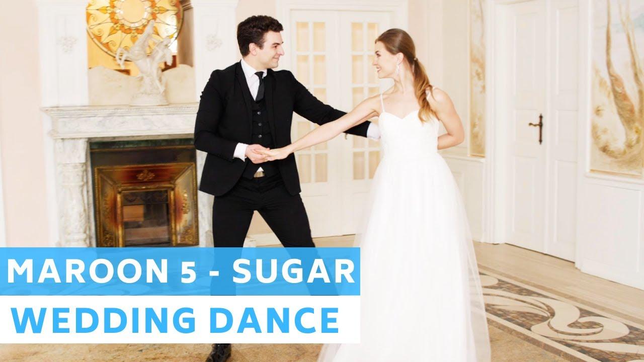 Maroon 5 - Sugar | Party Dance | Disco samba | Wedding Dance Online | First Dance