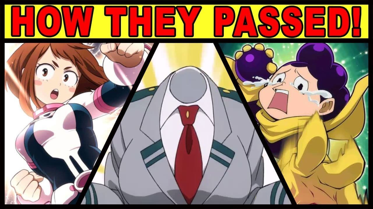 How Did They Get Into Class 1 A Ft Nux Taku My Hero Academia Boku No Hero Class 1a Explained