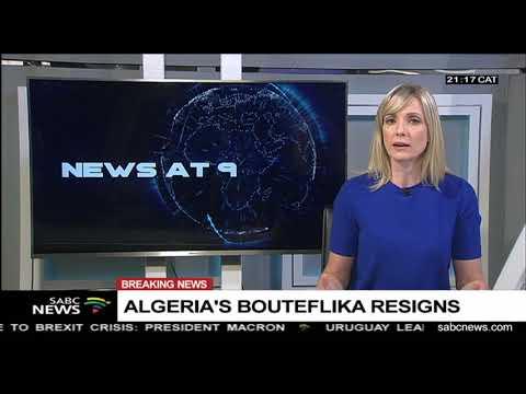 BREAKING NEWS: Algeria's President Abdelaziz Bouteflika resigns