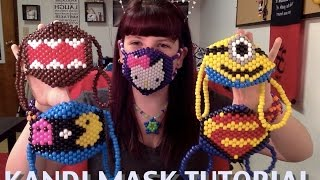 Repeat youtube video How to make a Kandi Mask (Tutorial)