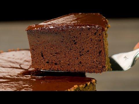 Кекс из 2 ингредиентов без грамма муки! Нежный, обволакивающий, вкусный, шоколадистый | Appetitno.TV