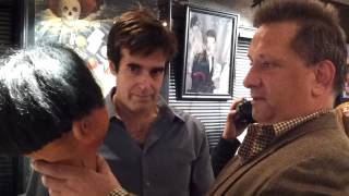Otto with David Copperfield in his Museum