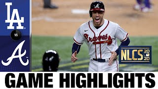 Braves erupt for 10 runs in Game 4 win over Dodgers | Dodgers-Braves Game 4 Highlights