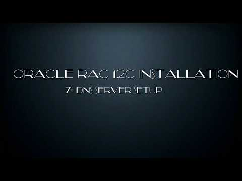 Oracle RAC 12C Installation -7- DNS Installation and Config .