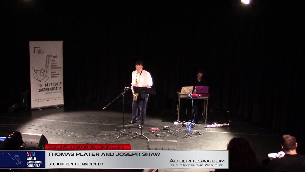 Medicine of fire by Joseph Shaw   Thomas Plater & Joseph Shaw   XVIII World Sax Congress 2018 #adolp