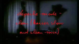 depeche mode clean