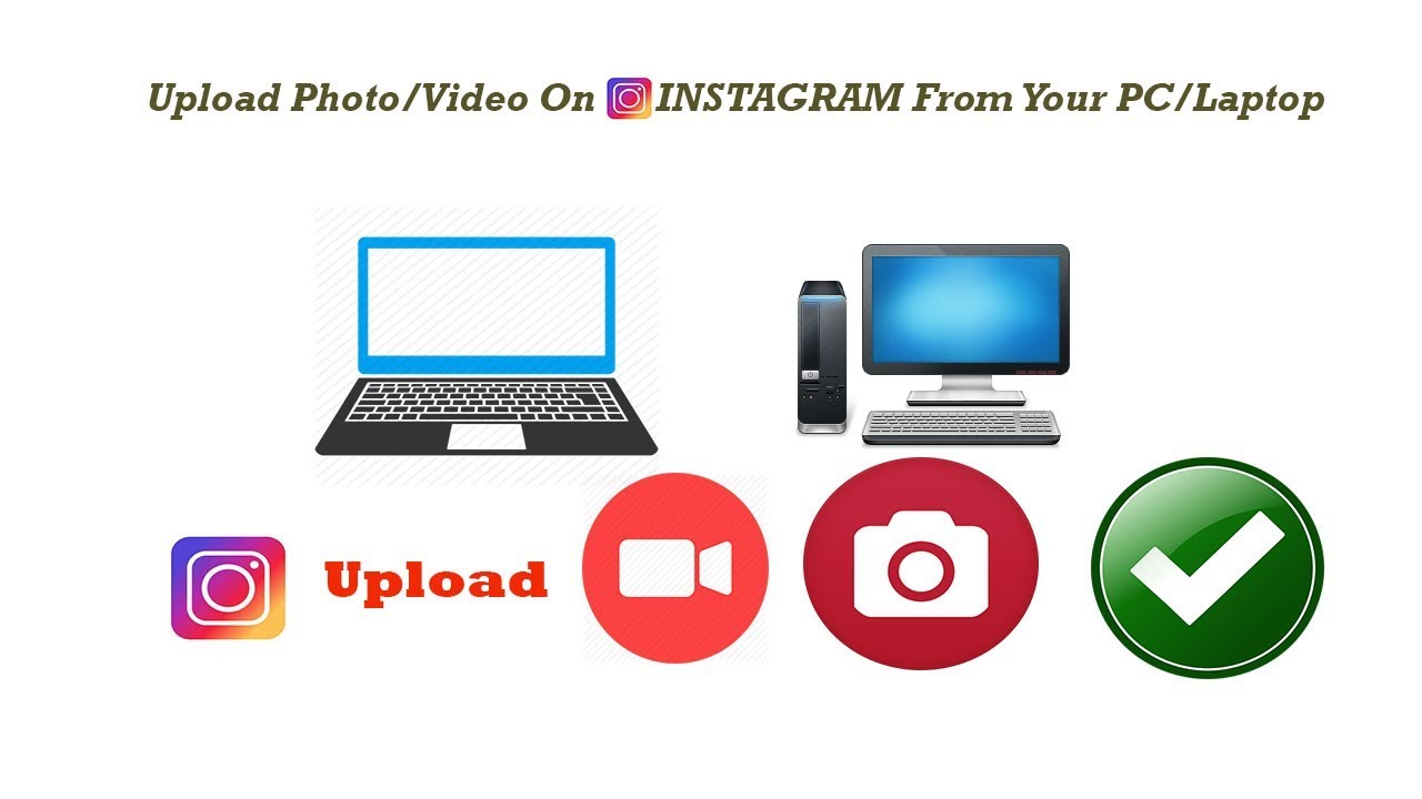 Upload Any Photo Or Video On Instagram From Your Computer Very Easy /Mobile  View Switcher