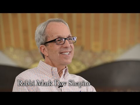 Rabbi Mark Dov Shapiro interview