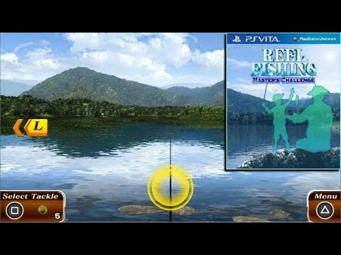 Reel Fishing Master's Challenge - Game PS Vita - Gameplay